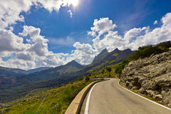 Sa Calobra on Mallorca Island, Spain Stock Photo