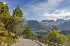 Sa Calobra on Mallorca Island, Spain Royalty Free Stock Photos
