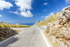 Sa Calobra on Mallorca Island, Spain. Beautiful view of Sa Calobra on Mallorca Island, Spain Royalty Free Stock Photography