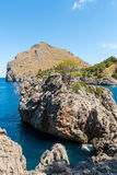 Sa Calobra on Mallorca Island, Spain Stock Photography