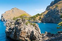 Sa Calobra on Mallorca Island, Spain. Beautiful view of Sa Calobra on Mallorca Island, Spain Stock Image