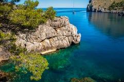 Sa Calobra, Mallorca, Spain Royalty Free Stock Images
