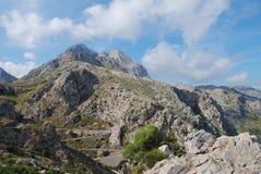Sa Calobra road, Majorca Royalty Free Stock Images