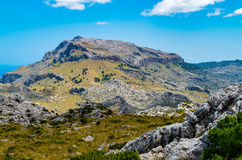 Sa Calobra in Serra de Tramuntana - mountains in Mallorca, Spain. Sa Calobra in Serra de Tramuntana - mountains in Mallorca Royalty Free Stock Image
