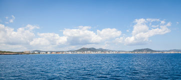 Sa Coma, Majroca, Spain - April 24, 2014: A view of the resort Stock Photo