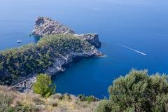 Sa Foradada, Mallorca, Spagna Fotografia Stock Libera da Diritti