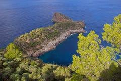 Sa Foradada. Mediterranean island majorca Stock Photography