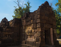 Sa Kampheang Noi Castle Royaltyfria Bilder