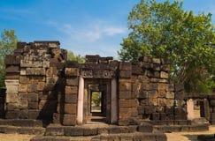 Sa Kampheang Noi Castle Royaltyfri Fotografi