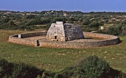 Sa Naveta D`es Tudons, Menorca Royalty Free Stock Photography