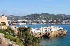 Sa Penya Distric in Ibiza Royalty Free Stock Images