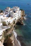 Sa Penya District in Ibiza Stock Image