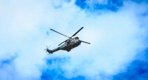 SA330 poemahelikopter van het sud-Luchtvaart bedrijf van het leger Royalty-vrije Stock Fotografie