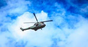 SA330 poemahelikopter van het sud-Luchtvaart bedrijf van het leger Royalty-vrije Stock Afbeeldingen