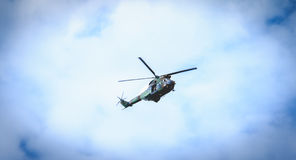 SA330 poemahelikopter van het sud-Luchtvaart bedrijf van het leger Royalty-vrije Stock Foto