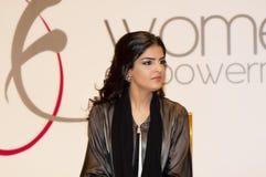 Sa princesse Ameerah Al Taweel d'élévation Image stock