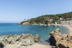 Sa Riera beach in Costa Brava, Catalonia, Spain Stock Photo