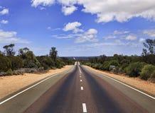 SA Road Hor perspective Stock Photo
