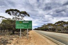 SA road 1001 2 Norseman Stock Images