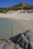 Sa Ruxi, Villasimius, Sardinia, Italy Royalty Free Stock Image