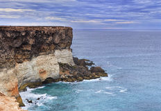 SA Sea Nullar Cliff close Royalty Free Stock Photography
