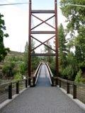 Sa Teekh Wa Bridge, Winthrop, Washington Royalty Free Stock Photography