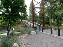 Sa Teekh Wa Bridge, Winthrop, Washington Stock Image