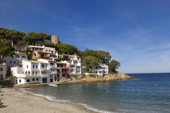 Sa Tuna Beach in Begur, Costa Brava, Girona, Catalonia, Spain Royalty Free Stock Image
