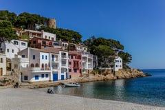 Sa Tuna, Spain. stock photography