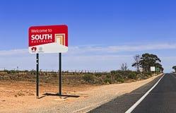 SA Welcome 2 SA Stock Photography