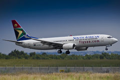 SAA Boeing 737-844 - ZS-SJU Stock Photography
