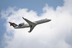 SAA Bombardier CRJ 200ER - ZS-NML Royalty Free Stock Photo