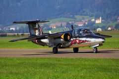 Saab 105 Photographie stock
