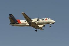Saab 340B Stockfotos