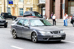 Saab 9-5 imagem de stock royalty free