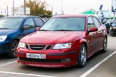 Saab 9-3 Stock Photo