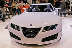 Saab concept model Stock Photography