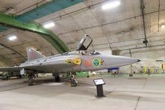 Saab Draken jet plane Royalty Free Stock Photo
