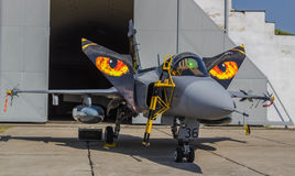 Saab 39 Gripen Lizenzfreies Stockbild