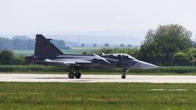 Saab 39 Gripen Image stock