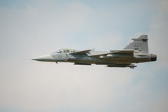 Saab JAS 39 Gripen aircraft Royalty Free Stock Photo