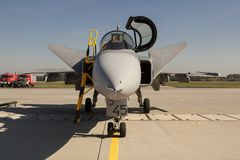 The Saab JAS 39 Gripen Stock Images