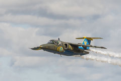 SAAB 105 jet trainer aircraft Stock Photography