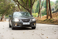SAAB 95 2011 Model Stock Photography