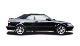 SAAB SE Turbo cabrio Stock Photography