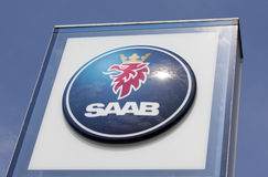 Saab sign Royalty Free Stock Photos