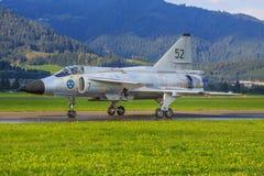 SAAB 37 Viggen Royalty-vrije Stock Afbeelding
