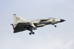 SAAB 37 Viggen Photos stock