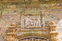 Saadabad Palace relief Royalty Free Stock Images