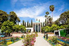 Saadi mausoleum in Shiraz Royalty Free Stock Photos
